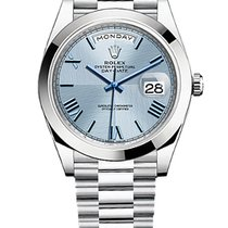 Rolex Day-Date 40 228206 Unworn Platinum 40mm Automatic United States of America, New York, NEW YORK