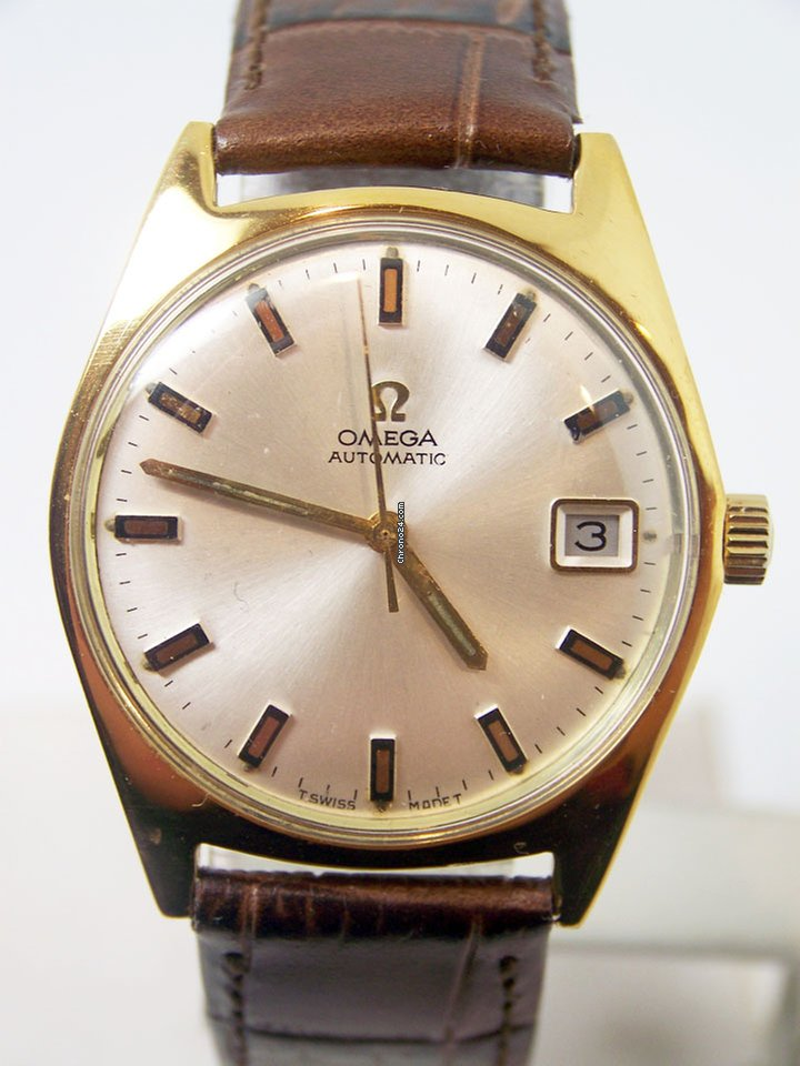 Omega Vintage Gold Plated Automatic Watch c.1960s Cal.565 EXLNT Condition  SERVICED Ref. 166.041
