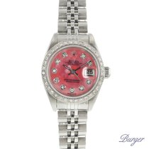 Rolex Oyster Perpetual Lady Date tweedehands 26mm Staal