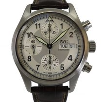 IWC Pilot Spitfire Chronograph pre-owned 39mm Steel