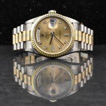 Rolex 36mm Remontage automatique 1995 occasion Day-Date 36 Brun