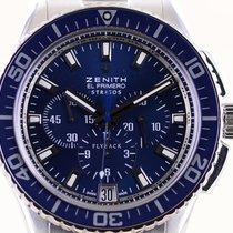 Zenith Stal 44.5mm Automatyczny 03.2067.405 używany