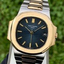 Patek Philippe 3800 Ouro/Aço Nautilus 37mm usado