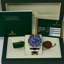 Rolex Gold/Steel 40mm Automatic 116613LB pre-owned