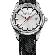 Louis Erard Steel 39mm Automatic 69105AA11 new