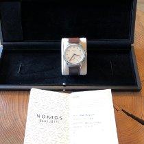 NOMOS Club Automat Steel 40mm White Arabic numerals