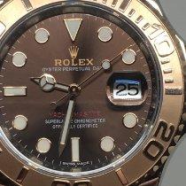 Rolex Yacht-Master 40 Or/Acier 40mm Brun Sans chiffres Belgique, rhone alpes
