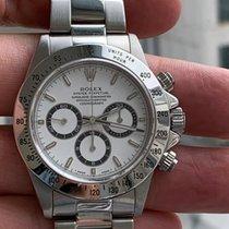 Rolex Daytona Steel 40mm White No numerals