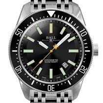 Ball Engineer Master II Skindiver Zeljezo 43mm Crn
