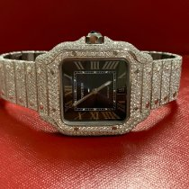 Cartier Santos 100 new 2019 Automatic Watch with original box and original papers W20073X8