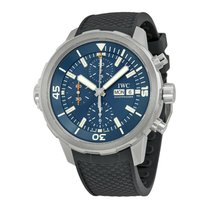 IWC Aquatimer Chronograph Steel 44mm Blue United States of America, California, Los Angeles