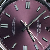 Rolex Oyster Perpetual 36 Acier 36mm Violet Sans chiffres France, Thonon les bains