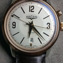 Vulcain 50s Presidents neu Gold/Stahl