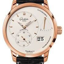 Glashütte Original PanoReserve Rose gold 40mm Silver United States of America, New York, Airmont