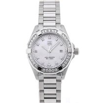 TAG Heuer Aquaracer Lady Staal 27mm Parelmoer
