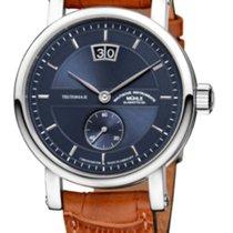 Mühle Glashütte Teutonia II Großdatum Chronometer Blue Limited...