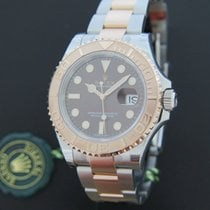 Rolex Yacht-Master 40 Everosegold / Steel Chocolate Dial NEW