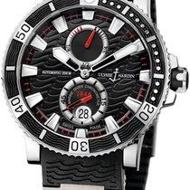 Ulysse Nardin Maxi Marine Diver neu Automatik Uhr mit Original-Box und Original-Papieren 263-90-3C/72