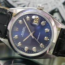 Rolex OysterDate Precision Winding Steel Mens Watch