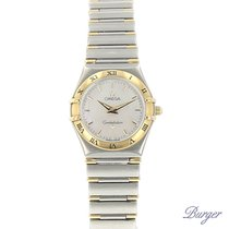 Omega 25mm Quartz 2002 pre-owned Constellation (Submodel) White