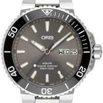 Oris Hammerhead Limited Edition Steel 45,50mm Grey