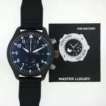 萬國 IWC 389001 Pilot Chronograph Top Gun Black Dial Ceramic
