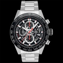TAG Heuer Carrera Calibre HEUER 01 Steel 45mm Black United States of America, California, San Mateo