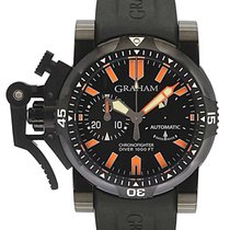 Graham Chronograph 47mm Automatic new Chronofighter Oversize Black
