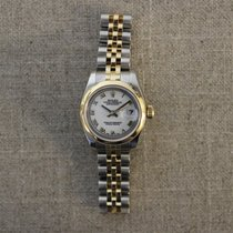 Rolex Zilver Automatisch Wit Romeins tweedehands Datejust