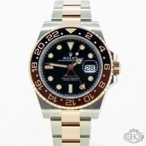 Rolex GMT-Master II Gold/Steel 40mm Black United Kingdom, London