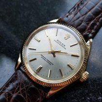 Rolex Men's 14K Solid Gold Oyster Perpetual 1005 Automatic,...