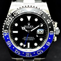 "Rolex GMT-Master II Batman 116710BLNR ""New with stickers"""