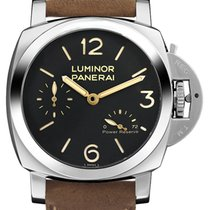 Panerai Luminor 1950 3 Days Power Reserve Steel 47mm Black Arabic numerals United Kingdom, London