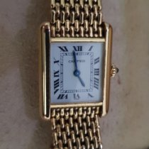 Cartier Tank Louis Cartier occasion Or jaune