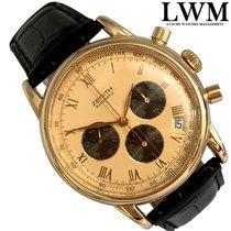 Zenith Yellow gold Automatic Champagne escluso corona 38mm pre-owned El Primero Chronograph