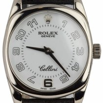 Rolex Cellini Danaos White gold 24mm White Arabic numerals United States of America, New York, Lynbrook