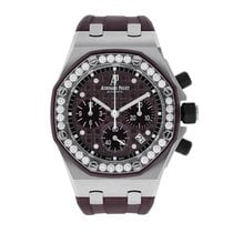Audemars Piguet Royal Oak Offshore Lady Steel 37mm Purple No numerals