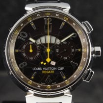 Louis Vuitton Steel 44mm Automatic louis vuitton 1021 pre-owned