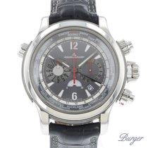 Jaeger-LeCoultre Master Compressor Extreme World Chronograph Platina 46.3mm Cinzento Árabes