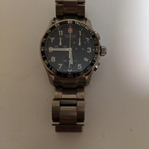 Victorinox Swiss Army Chrono Classic Titanium Black Arabic numerals