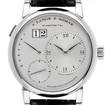 A. Lange & Söhne Lange 1 Platinum 39mm Silver Roman numerals