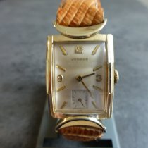 Wittnauer Or jaune 40mm Remontage manuel occasion