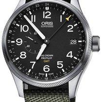 Oris Big Crown ProPilot GMT Acier 45mm Noir