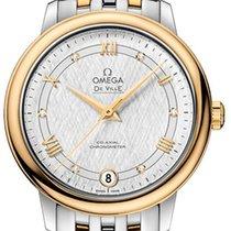 Omega De Ville Prestige Or/Acier 32.7mm Argent