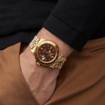 Rolex GMT-Master Geelgoud 40mm Bruin Nederland, Amsterdam