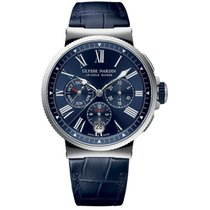 Ulysse Nardin 1533-150/43 Сталь Marine Chronograph 43mm новые