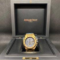Audemars Piguet Oro amarillo Automático Azul 42mm usados Royal Oak Offshore Chronograph
