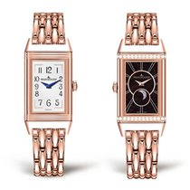 Jaeger-LeCoultre Rose gold Manual winding 40mm new Reverso Duetto