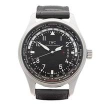 IWC Pilot  39 s WorldTimer GMT Stainless Steel Men  39 ... 6b36e26902