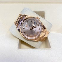 Rolex Day-Date 36 Or rose 36mm Brun France, Paris
